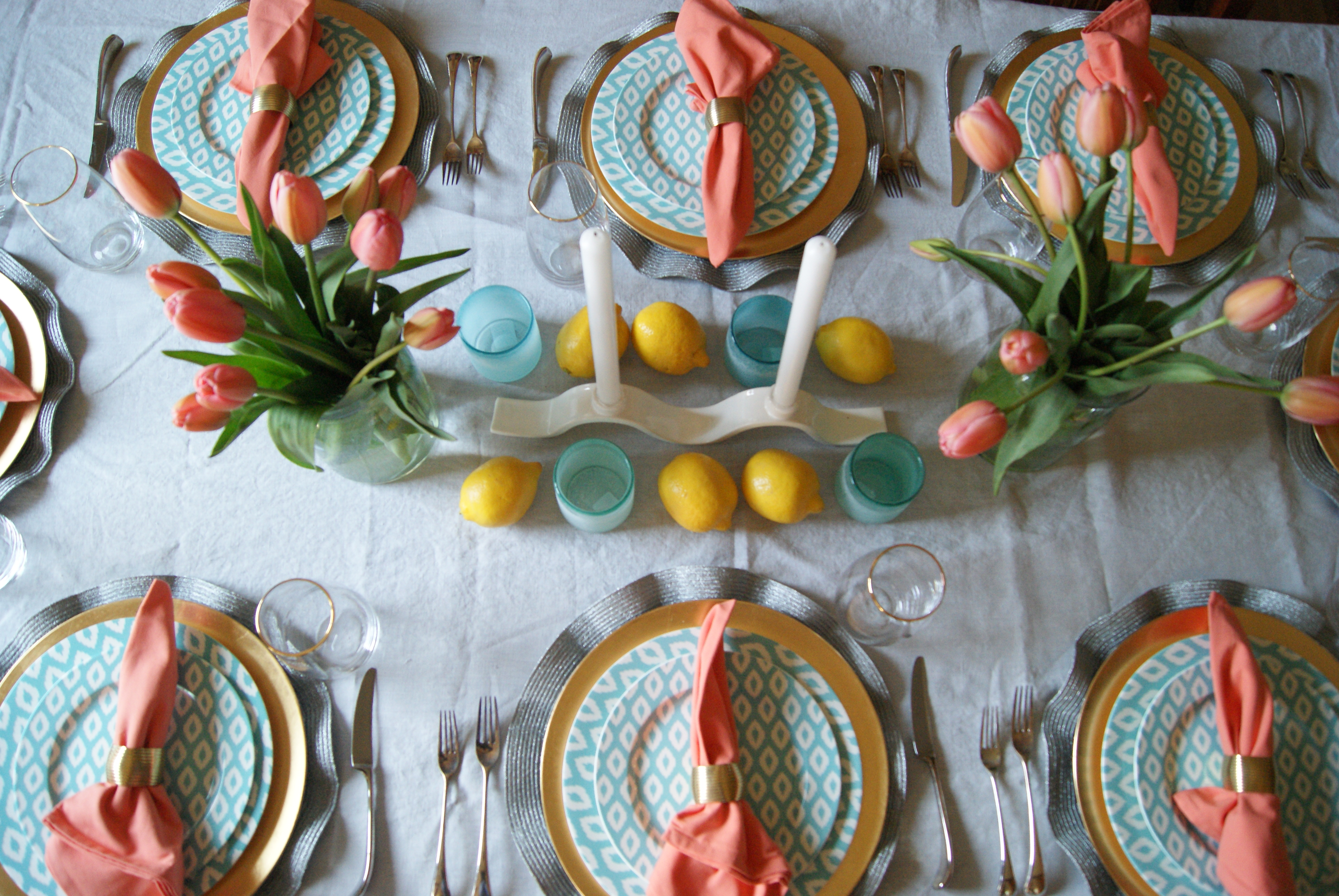 Spring is here! Hopefully it is warm where you are Colorado weather is so unpredictable so I have no idea how long it will stay warm for or when it will ... & The Every Hostess - Spring Dinner Party - The Every Hostess